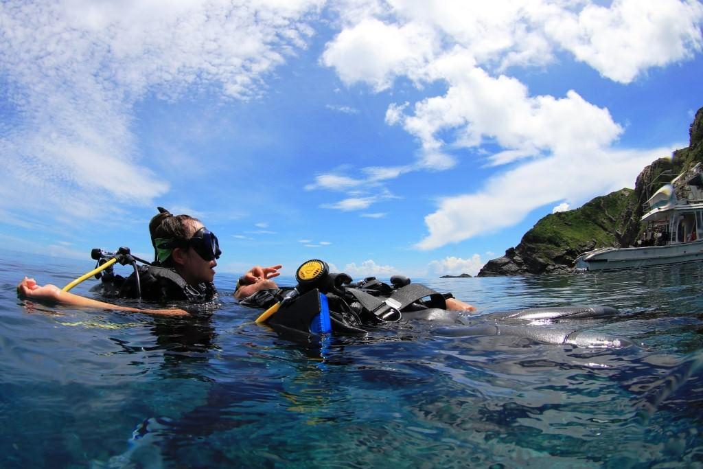 沖縄でPADIレスキューダイバーコース