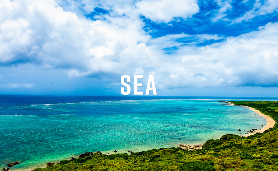 蒼の島、沖縄。